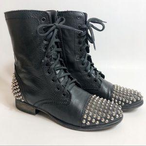 Steve Madden 'Tarnney' Punk Rock Combat Boots